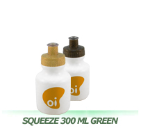 Squeeze 300 mL Green